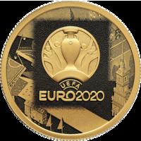 Реверс монеты «Чемпионат Европы по футболу 2020 (UEFA EURO 2020)»